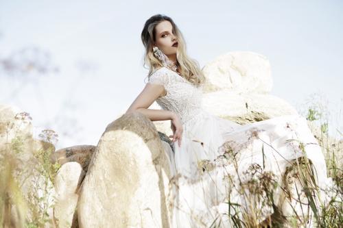 Sadoni Robe de Mariée chez Olivier Sinic Le Château Blanc