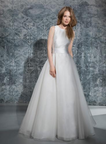 Tosca Spose Robe de mariée au Château Blanc Olivier SINIC